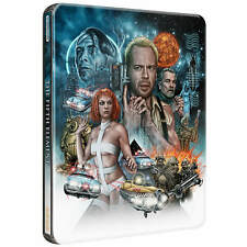 THE FIFTH ELEMENT : 4K Ultra HD + BLU RAY ( UK STEELBOOK ) BRUCE WILLIS Pre-Sale