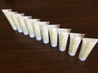 Malin + Goetz Vitamin B5 Body Moisturizer Travel (qty. 10) 1.0 oz, Sealed New