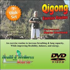 """Complete Guide To Qi-Gong"" 3 Dvd Set, Seniors increase Breathing & Stamina"