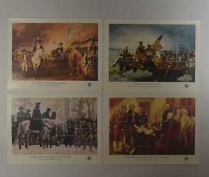 US SCOTT 1686-89 COMPLETE SET 4 BICENTENNIAL SOUVENIR SHEETS OF 5 MNH