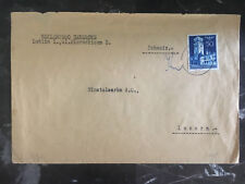1940s Lublin Poland Germany GG cover to lucerne Switzerland Censored