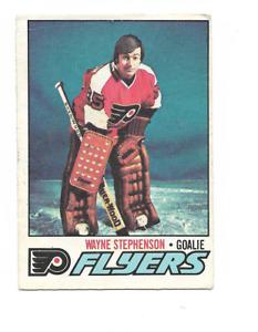 1977-78 O-Pee-Chee #142 Wayne Stephenson Philadelphia Flyers