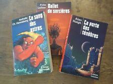 LOT LIVRE SCIENCE-FICTION LE MASQUE FANTASTIQUE SORCIERES ASTRES TENEBRES 1977