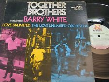 BARRY WHITE / LOVE UNLIMITED Together Brothers / US LP 1974 20 CENTURY ST-101