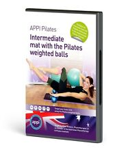 APPI Intermediate Mat + Weighted Pilates Ball DVD Exercise Workout Core Strength