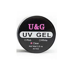 15ml UV Gel Acrylic Naturell Nails Builder Erbauer Klar Aufbaugel Pink Weiß Klar