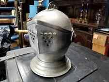 """Antique Helmet Bucket 13""""H x 11"""""""