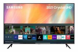 "SAMSUNG UE43AU7100KXXU 43"" Inch (2021) 4K HDR LED SMART TV - UA7100"
