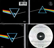 "PINK FLOYD *VG+* ""DARK SIDE"" 1993 US CAPITOL RMST CD W/SILVER DISC, ETCHED PRISM"
