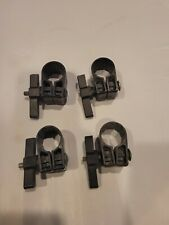 Set of 4 Yakima Snar, wrap around mighty mount, for round bar accessories, snap
