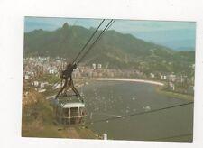 Brazil Rio De Janeiro Panorama Botefogo e Corvovado Postcard 781a