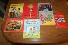 7 Chinese Themed Picture Books Lot Lion Dancer Chinatown Grandfather Tang Counts
