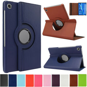 """For Lenovo Tab M10 HD TB-X306F/X 10.1"""" Tablet Rotating Leather Stand Case Cover"""