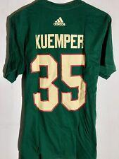 adidas Nhl T-Shirt Minnesota Wild Darcy Kuemper Green sz L