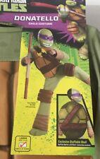 Donatello Teenage Mutant Ninja Turtles Deluxe Costume Rubies Large 12-14 Cosplay
