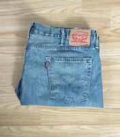 """Levis 514 Mens Denim Jeans Straight Fit W40"""" L32"""" - Vtg - Blue"""