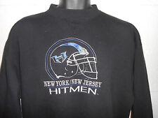 Vintage WWE XFL New York New Jersey Hitmen Crewneck Sweatshirt