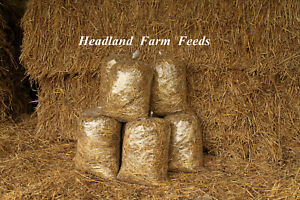 BARLEY STRAW - Loose Fill Bags for SMALL ANIMAL, POULTRY, NATURAL BEDDING PONDS