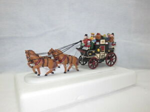 Dept. 56 Dickens' Village Accessory ~ Holiday Coach # 55611