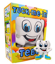 Tuck-Me-In Tebo (Plush Tooth Fairy Pillow Toy w/ Storybook & Kids Music CD)