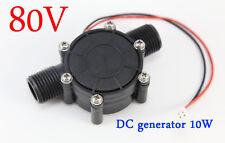 DC 0-80V DC generator 10W micro-hydro water turbine Generatoren water charging