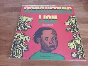 Yabby You & Prophets , Conquering Lion , Pressure Sounds Label , 2 X LP