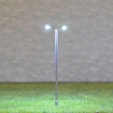 5 x HO OO gauge Model Train Lamps Railway Lamp posts  Led Street Lights #TD55D