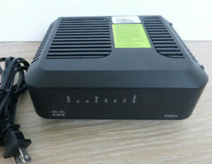Cisco DPQ3212 DOCSIS 3.0 Cable Modem w Embedded Digital Voice Adapter-Power Cord