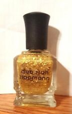 "Deborah Lippmann Nail Polish Color ""Boom Boom Pow"" NEW!  24K Full Size .5 oz"