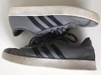Adidas Vl Court. Kid's Grey Unisex Trainers. Size: 2.