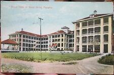 1911 Front view of Tivoli Hotel Panama postcard view
