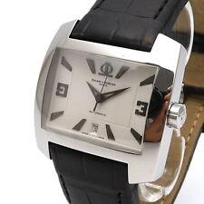 Baume & Mercier Hampton Spirit Herren Uhr Original Box und Papiere Automat Stahl