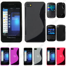 Housse Etui Coque Silicone Motif S-line Gel Souple BlackBerry  Q10 Z10