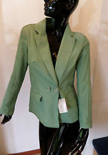 Giacca blazer in camoscio pelle di Violanti genuine suede leather jacket cuir