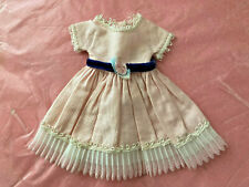 """Betsy McCall Vtg 1950s 8"""" Doll Pink Dress Playtime Outfit Clothing"""