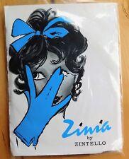 "Vintage 1950s ladies stockings Zinia by Zintello Celon nylons seamfree size 11"""