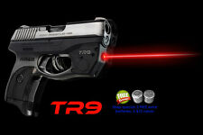 ARMALASER TR9 Ruger LC9 LC9S LC380 SUPER-BRIGHT RED LASERSIGHT w/GRIP ACTIVATION