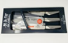Global 3-pc Knife Set (G2111), NIB