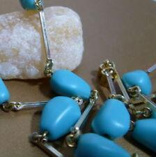 Collares y colgantes de joyería cadenas turquesas turquesa