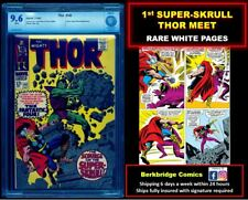 🔥 THOR #142 CBCS 9.6 NICE AS CGC 👀 LOOK FANTASTIC FOUR #18 FANS: SUPER-SKRULL