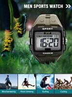 Men Sports Waterproof 5 ATM Multifunction Stopwatch Digital Watch