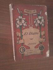 Ugo Mioni - EL DIABLO - Avventure - Texas Messico - Ed. Artigianelli Torino 1915