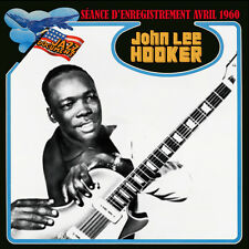 CD John Lee Hooker - Drifting through the blues - séance d'enregistrement 1960