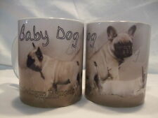 Tasse / Mug - motif chien  BOULEDOGUE FRANCAIS FAUVE BEBES