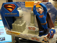 SUPERMAN RETURNS Rocket Launch Superman MATTEL DC Comics MIP Pump & Launch