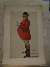 ORIGINAL VANITY FAIR PRINT THE GENERAL FOX HUNTING FREE POST