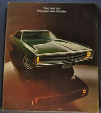 1969 Chrysler Catalog Brochure New Yorker 300 Town & Country Wagon Newport 69