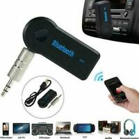 New 1x Wireless Bluetooth 3.5mm Audio Stereo Music Receiver with Adapter I8C5