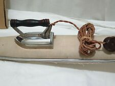 Vintage Retro Travel Iron With Mini Ironing Board fully working