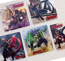 smilemakers Marvel Avengers Age of Ultron Shaped Logo Stickers 10 sheets